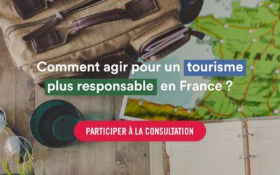 Consultation nationale sur le tourisme responsable en France